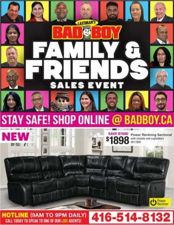 Bad Boy Superstore Flyer - February 08, 2021 - February 24, 2021.