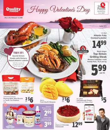 Quality Foods Flyer - February 08, 2021 - February 14, 2021.