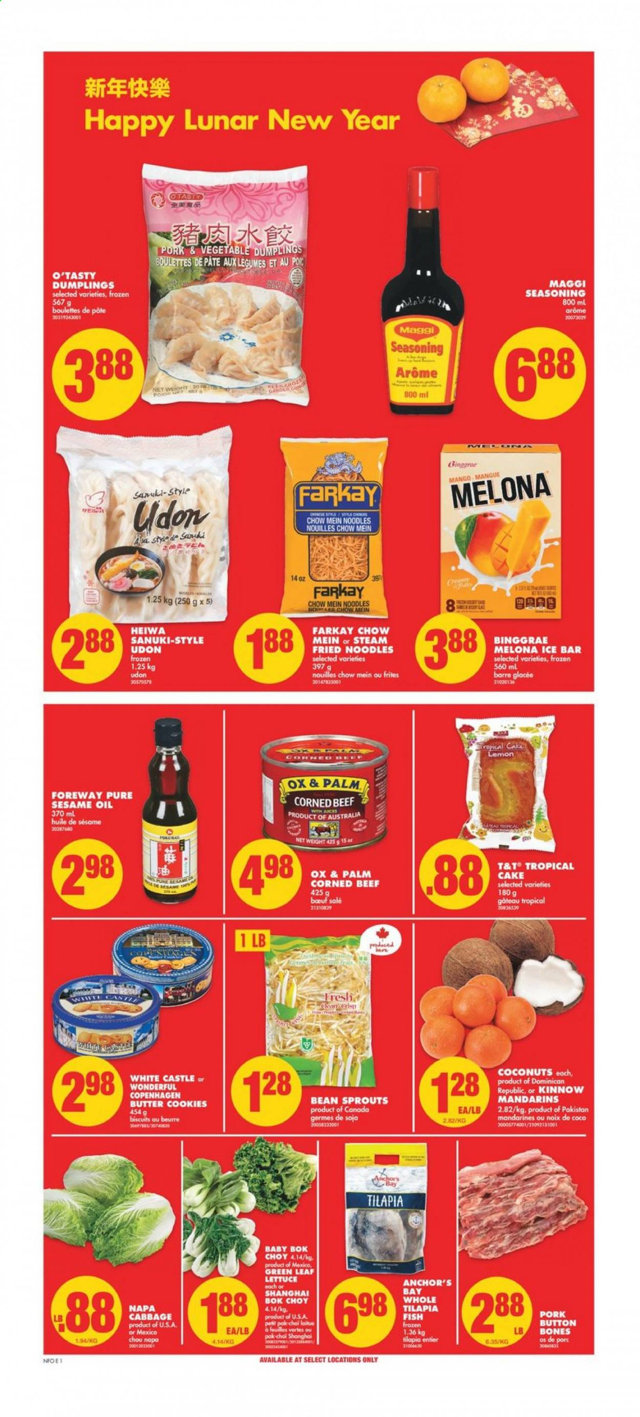 No Frills Flyer - February 11, 2021 - February 17, 2021 - Sales products - pin. Page 1.