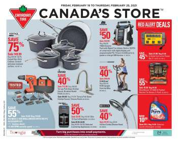Circulaire Canadian Tire