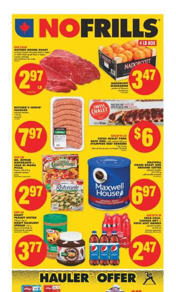 No Frills Flyer