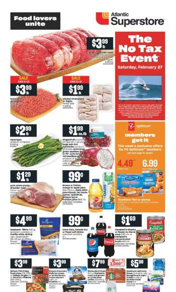 Atlantic Superstore Flyer - February 25, 2021 - March 03, 2021.
