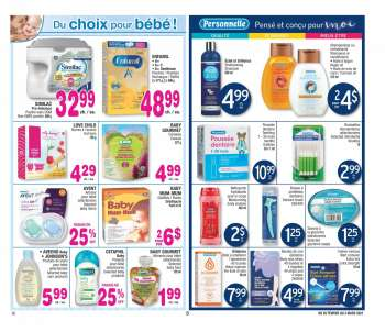Jean Coutu Flyer - February 25, 2021 - March 03, 2021.