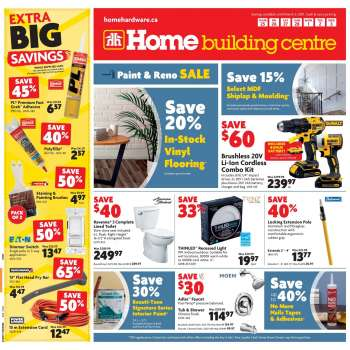 Home Building Centre Flyer - February 25, 2021 - March 03, 2021.