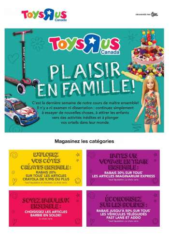 Circulaire Toys''R''Us.