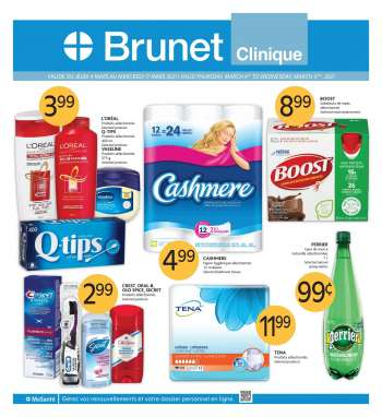 Brunet Clinique Flyer - March 04, 2021 - March 17, 2021.