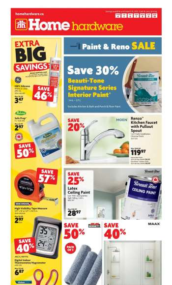 Home Hardware Flyer - March 04, 2021 - March 10, 2021.