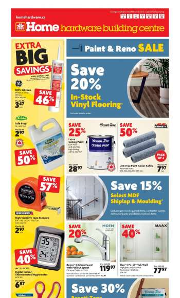 Home Hardware Building Centre Flyer - March 04, 2021 - March 10, 2021.