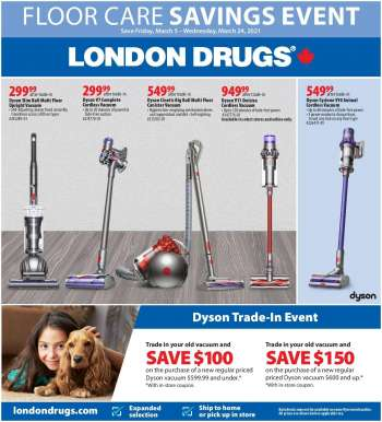 London Drugs Flyer - March 05, 2021 - March 24, 2021.