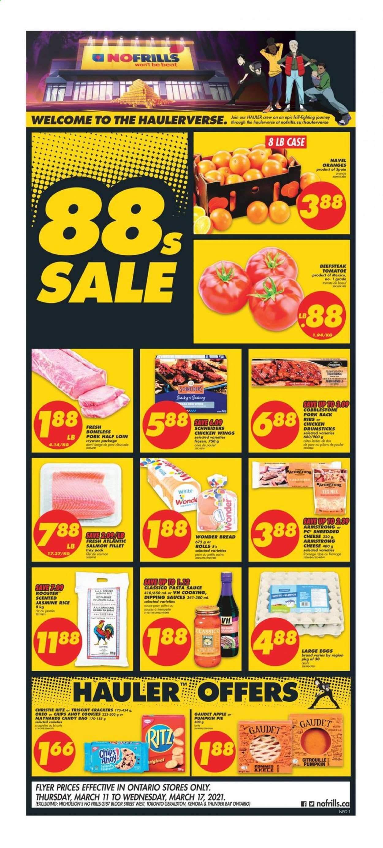 No Frills Flyer  - March 11, 2021 - March 17, 2021. Page 1.
