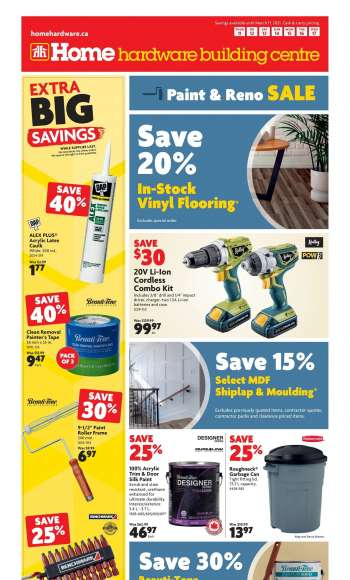 Home Hardware Building Centre Flyer - March 11, 2021 - March 17, 2021.