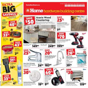 Home Hardware Building Centre Flyer - March 18, 2021 - March 24, 2021.