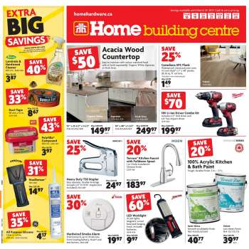 Home Building Centre Flyer - March 18, 2021 - March 24, 2021.