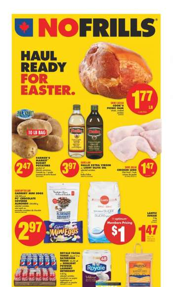 No Frills Flyer - March 25, 2021 - March 31, 2021.