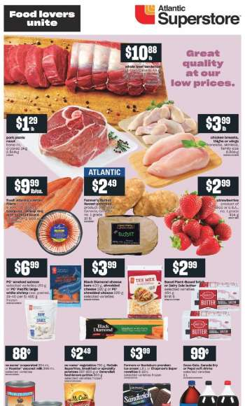 Atlantic Superstore Flyer - March 25, 2021 - March 31, 2021.