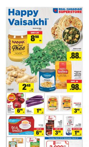 Real Canadian Superstore Flyer - March 25, 2021 - March 31, 2021.