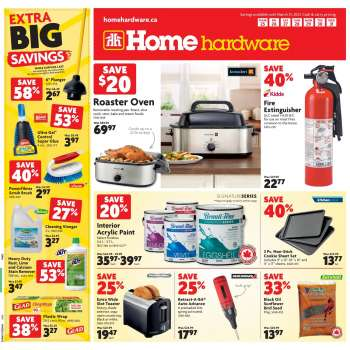 Home Hardware Flyer - March 25, 2021 - March 31, 2021.