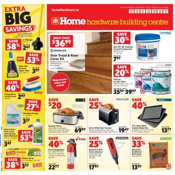 Home Hardware Building Centre Flyer - March 25, 2021 - March 31, 2021.