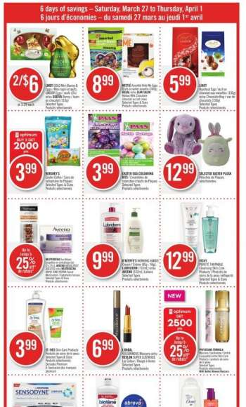 Shoppers Drug Mart Flyer - March 27, 2021 - April 01, 2021.