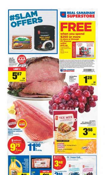 Real Canadian Superstore Flyer - April 01, 2021 - April 07, 2021.