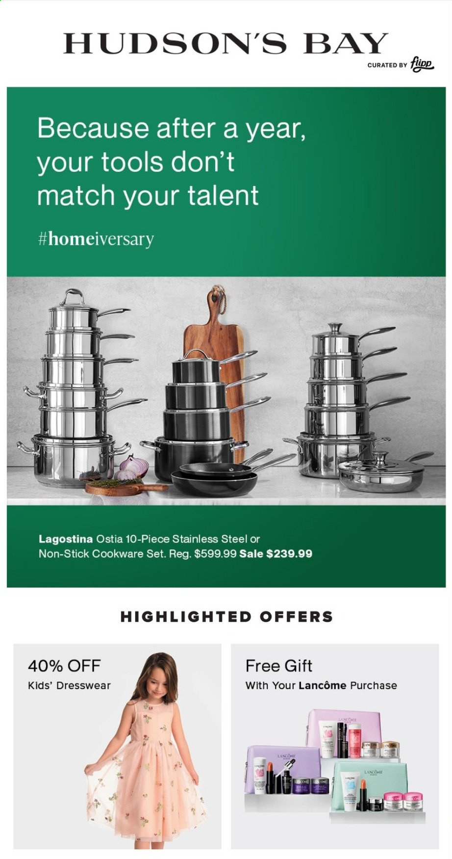 Hudson's Bay Flyer . Page 1.