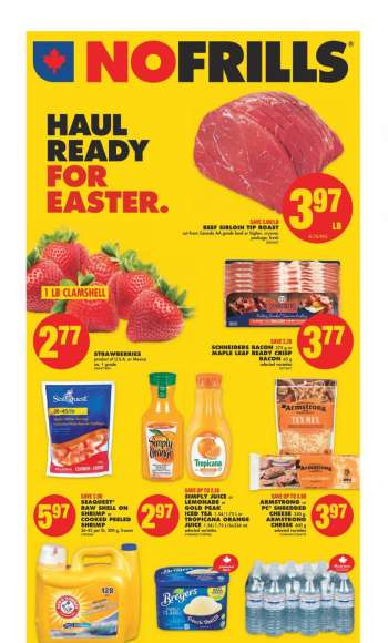 No Frills Flyer - April 01, 2021 - April 08, 2021.