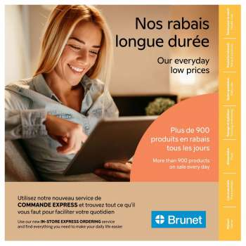 Brunet Flyer - March 11, 2021 - May 12, 2021.