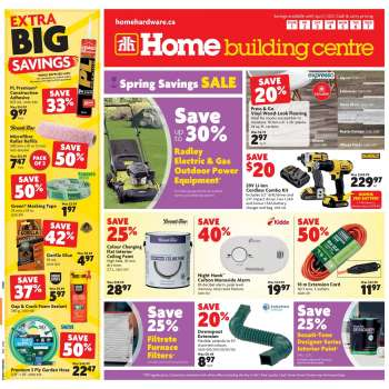 Home Building Centre Flyer - April 01, 2021 - April 07, 2021.