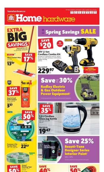 Home Hardware Flyer - April 01, 2021 - April 07, 2021.