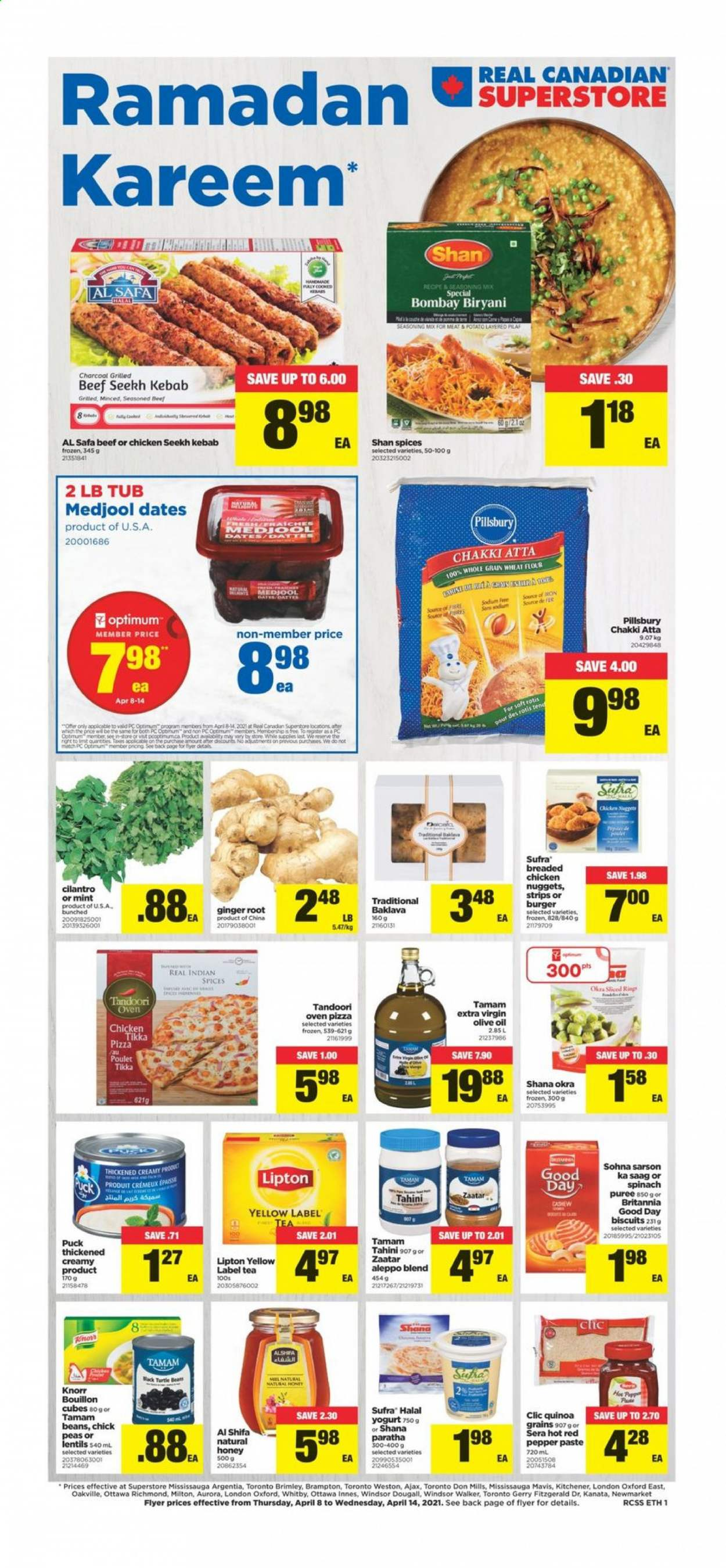 Real Canadian Superstore Flyer  - April 08, 2021 - April 14, 2021. Page 1.