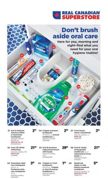 Real Canadian Superstore Flyer - April 08, 2021 - April 21, 2021.