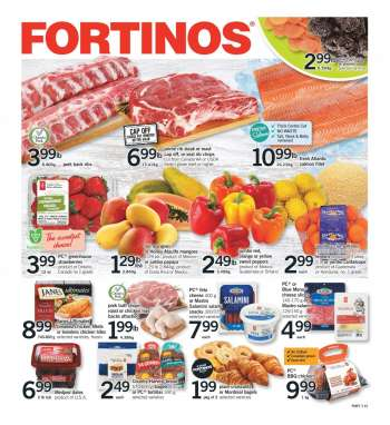 Fortinos Flyer - April 08, 2021 - April 14, 2021.