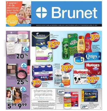 Brunet Flyer - April 15, 2021 - April 21, 2021.