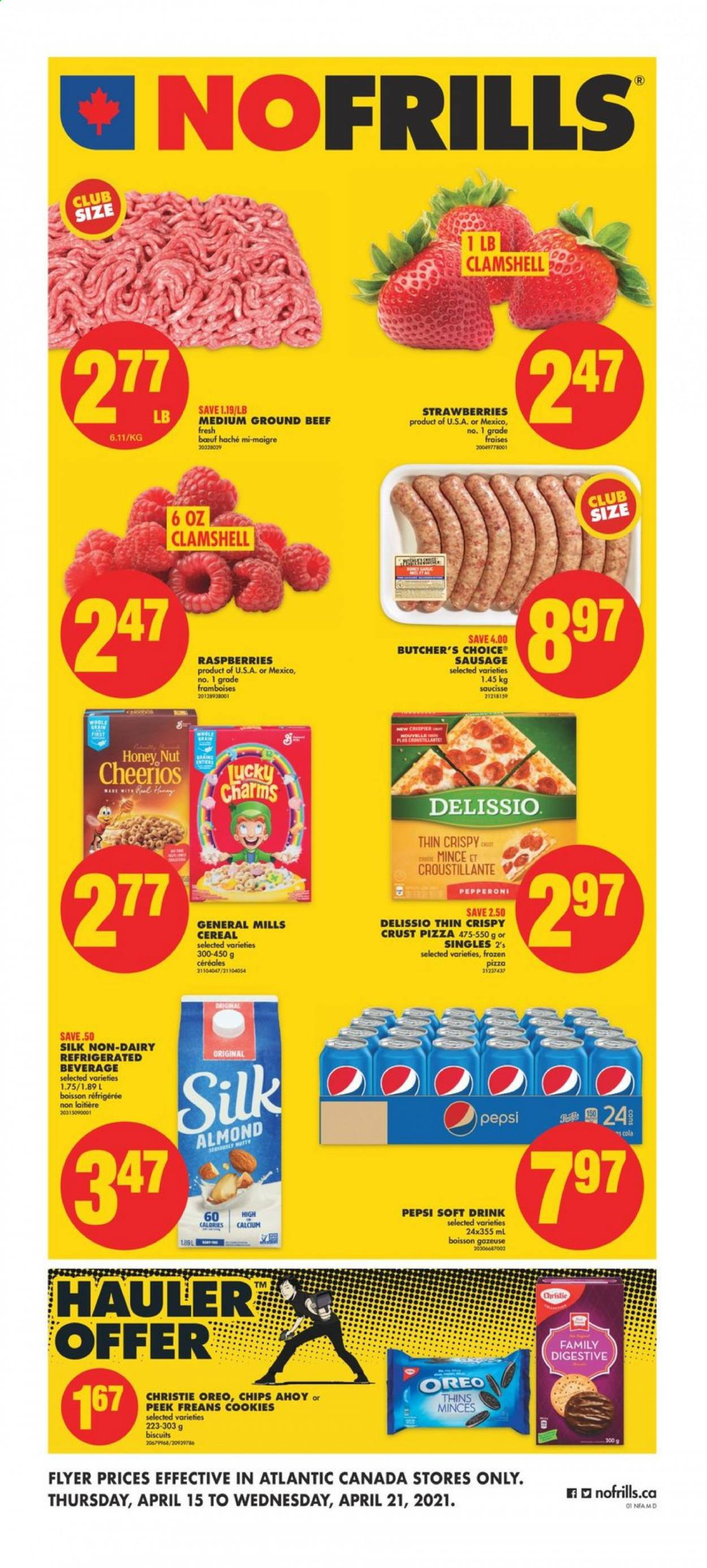 No Frills Flyer  - April 15, 2021 - April 21, 2021. Page 1.