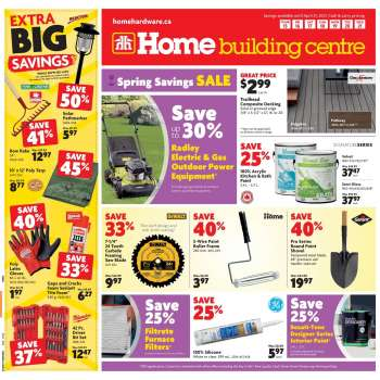 Home Building Centre Flyer - April 15, 2021 - April 21, 2021.