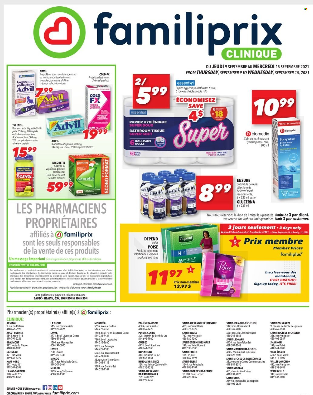 Big Y Weekly ad valid from 07/29/2021 to 09/08/2021