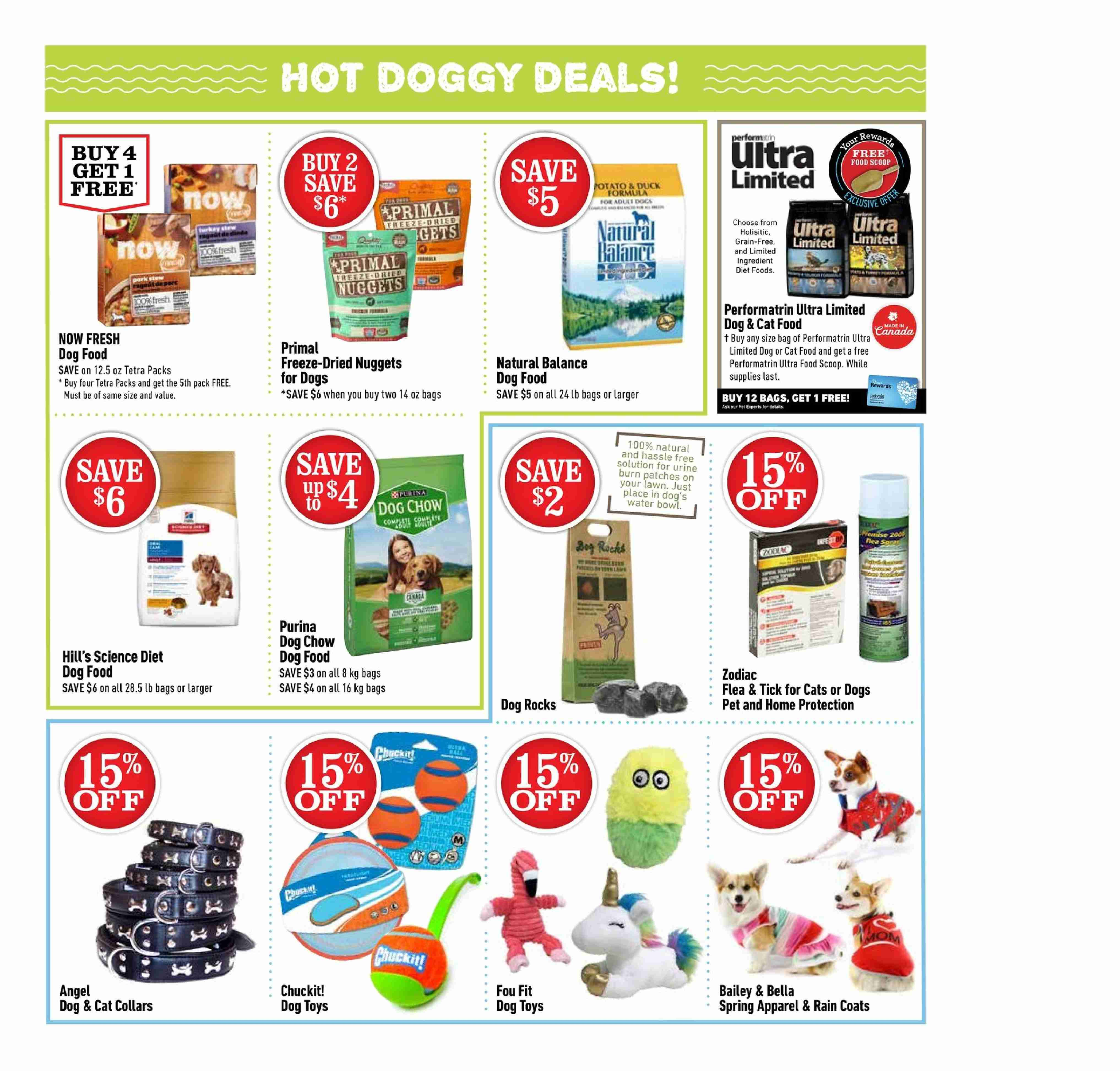 Pet Valu Flyer  - May 03, 2018 - May 13, 2018. Page 2.