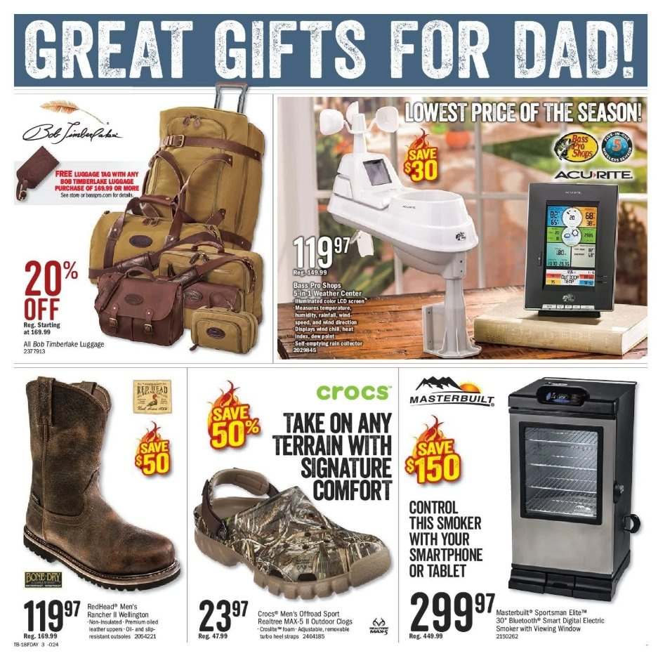 Bass Pro Shops Flyer  - May 29, 2018 - June 17, 2018. Page 3.