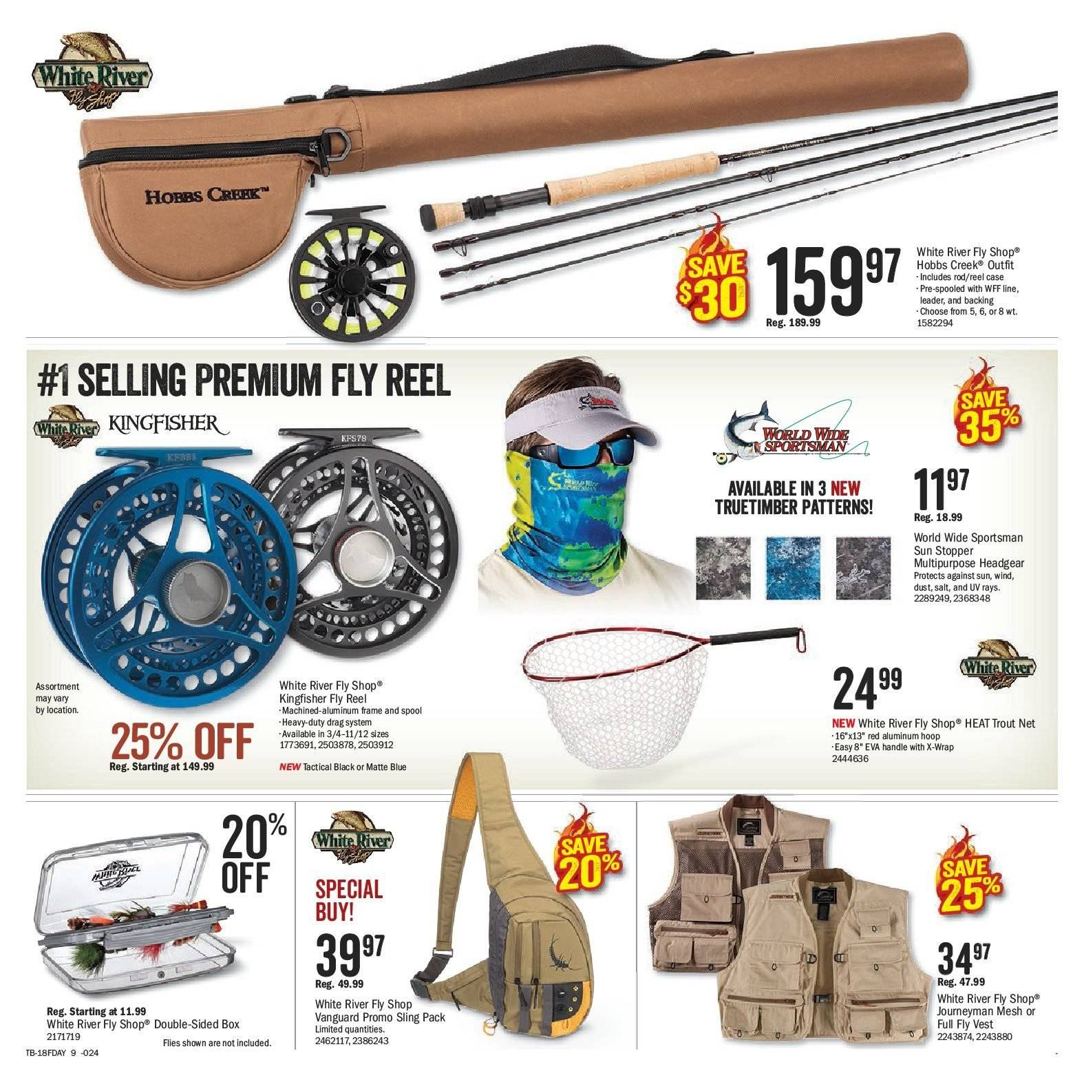 Bass Pro Shops Flyer  - May 29, 2018 - June 17, 2018. Page 9.