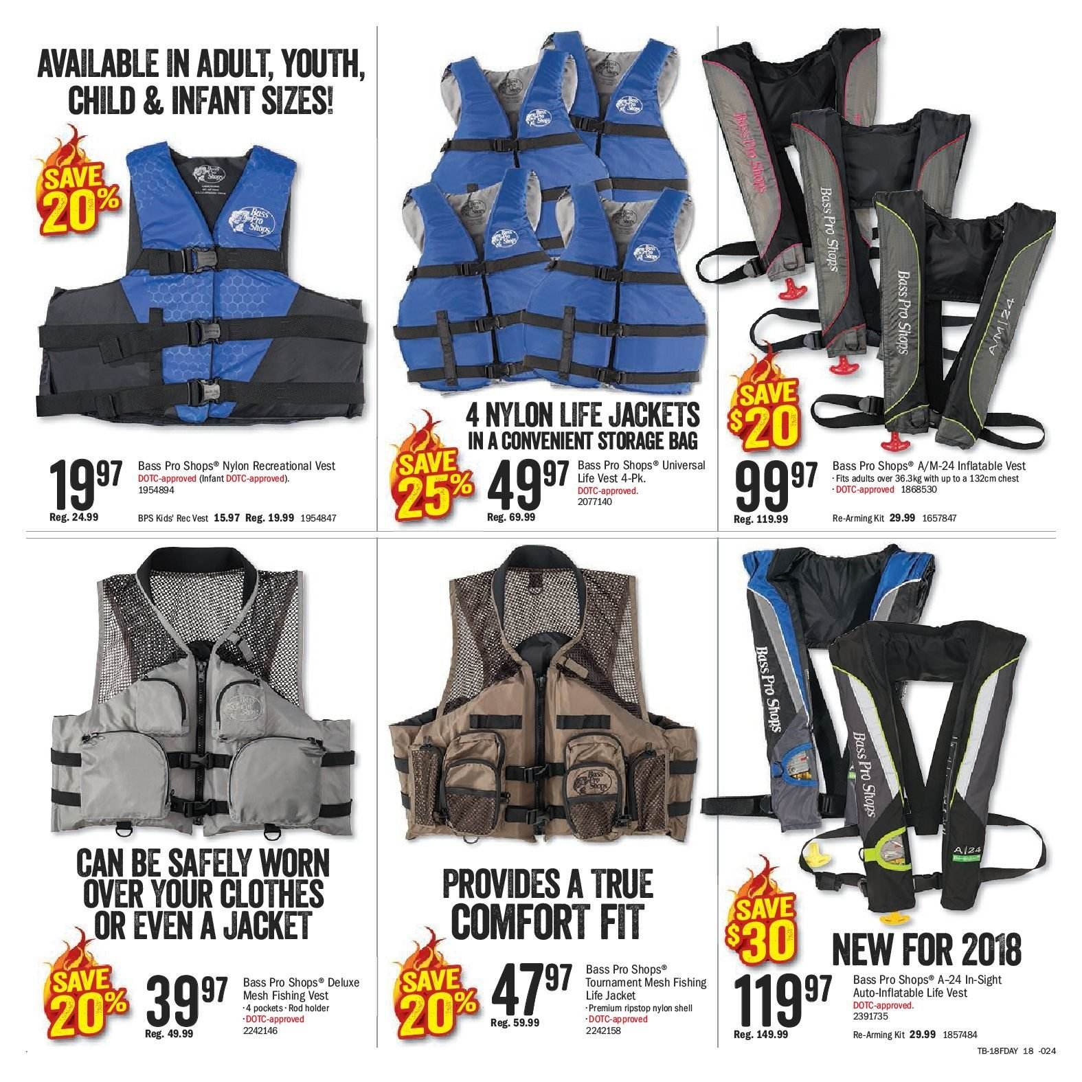 Bass Pro Shops Flyer  - May 29, 2018 - June 17, 2018. Page 18.