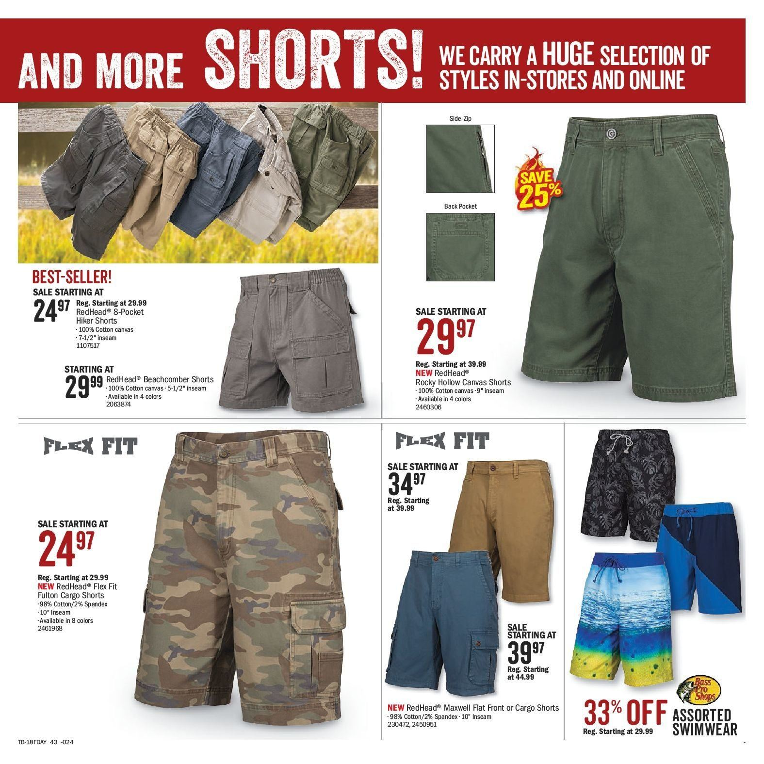 Bass Pro Shops Flyer  - May 29, 2018 - June 17, 2018. Page 47.