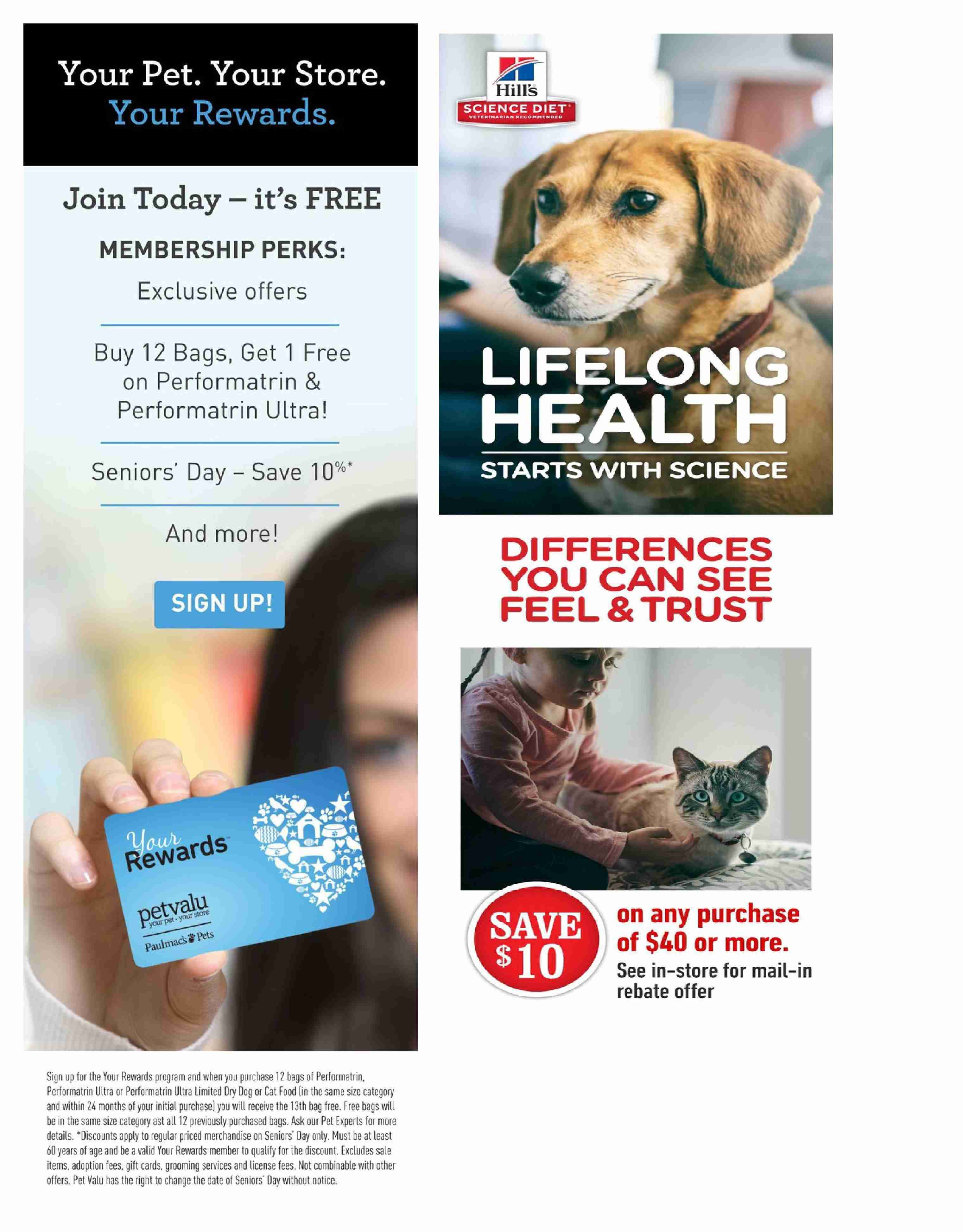 Pet Valu Flyer  - July 16, 2018 - August 01, 2018. Page 3.