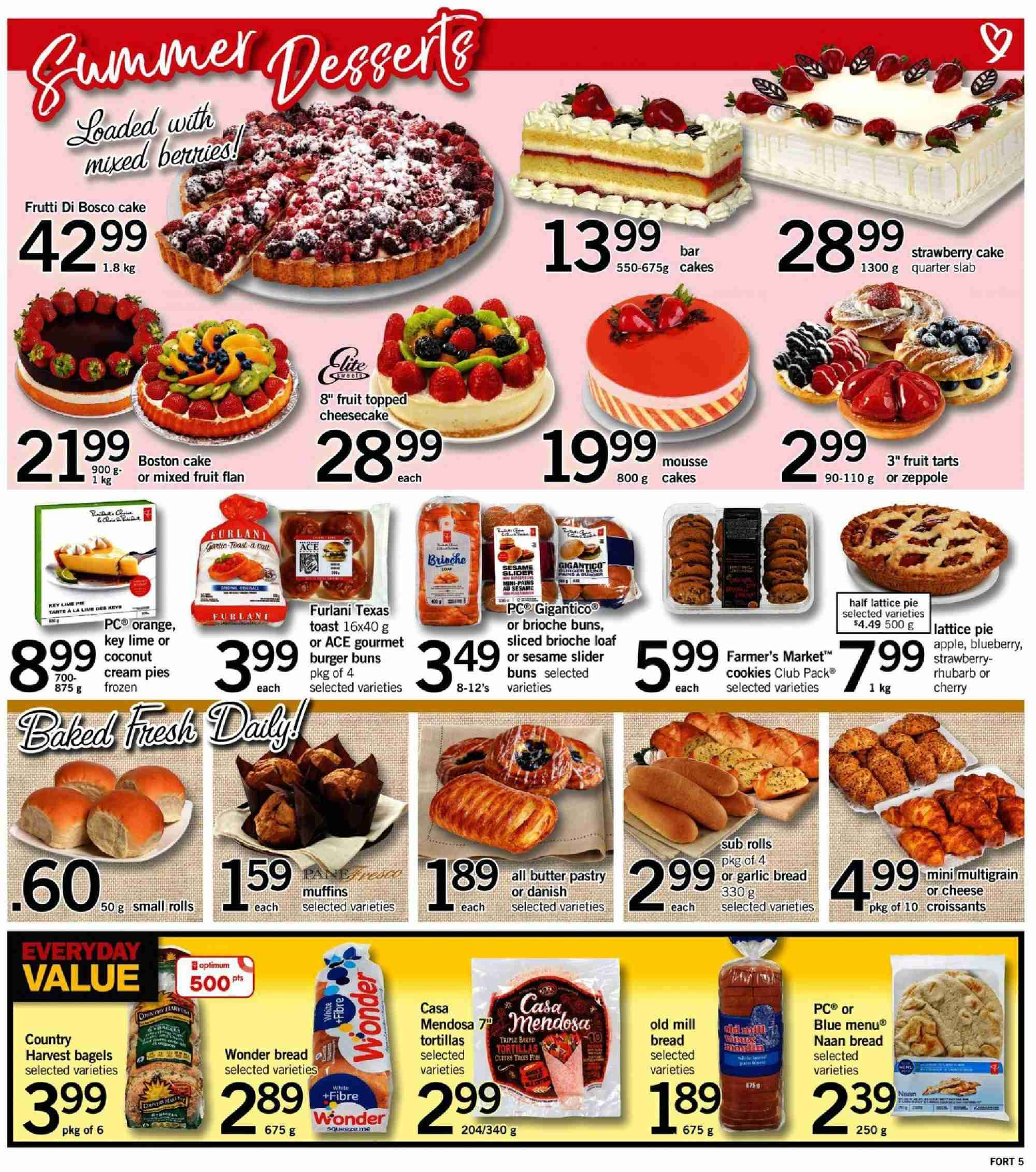 Fortinos Flyer  - July 19, 2018 - July 25, 2018. Page 5.