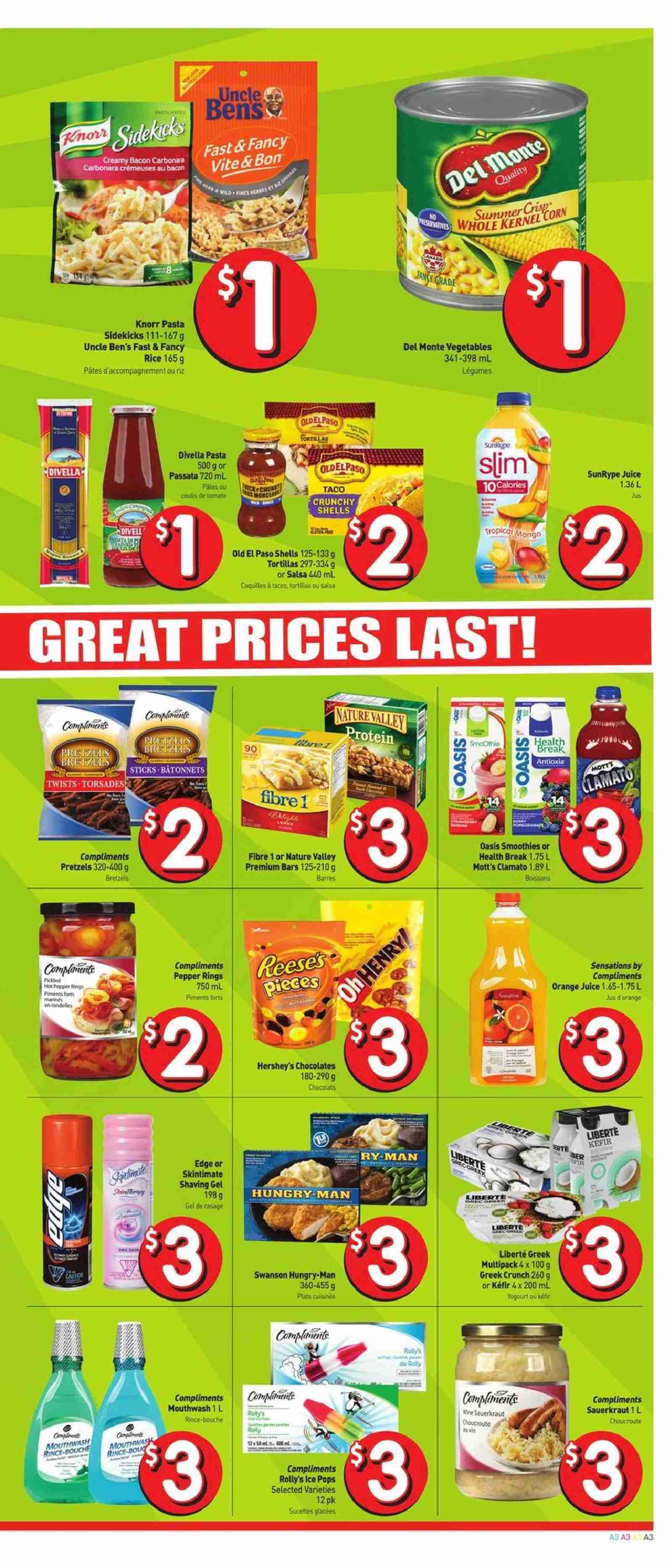 FreshCo. Flyer  - July 26, 2018 - August 01, 2018. Page 3.