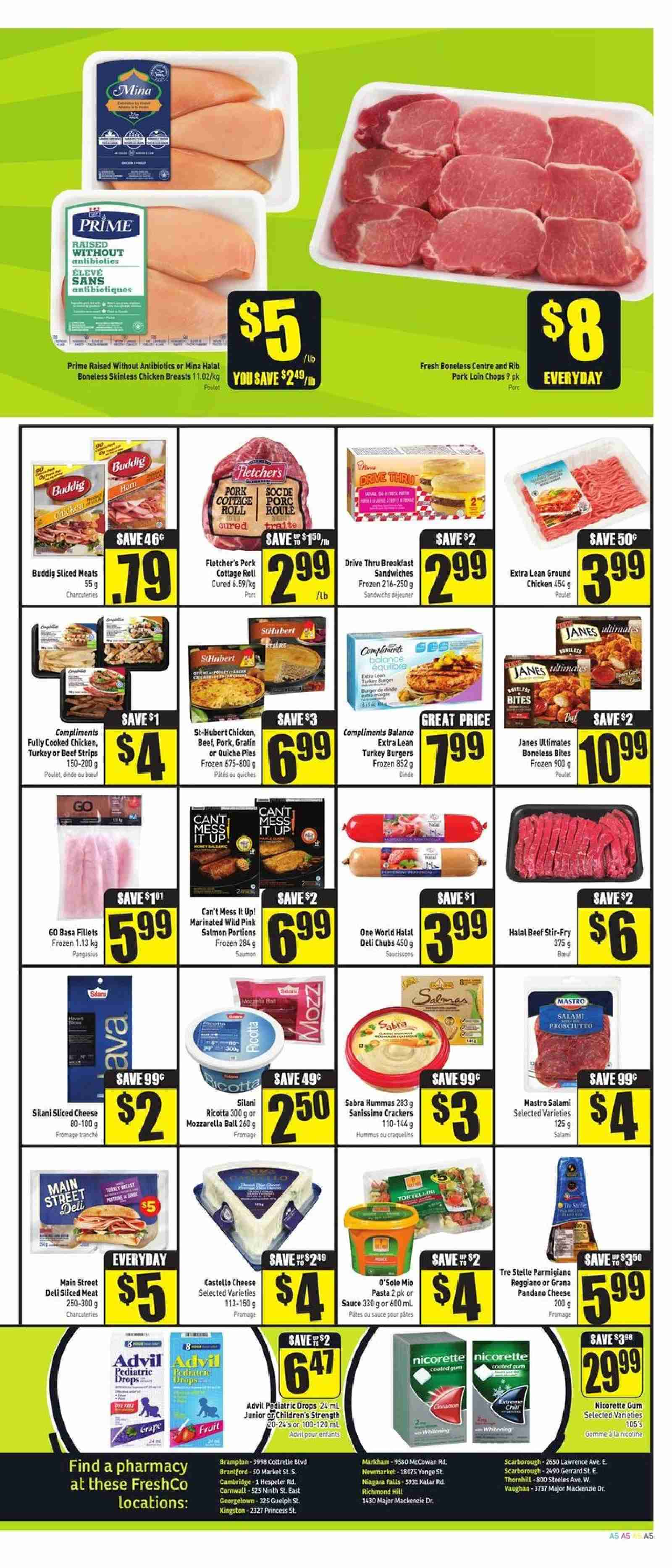 FreshCo. Flyer  - July 26, 2018 - August 01, 2018. Page 5.