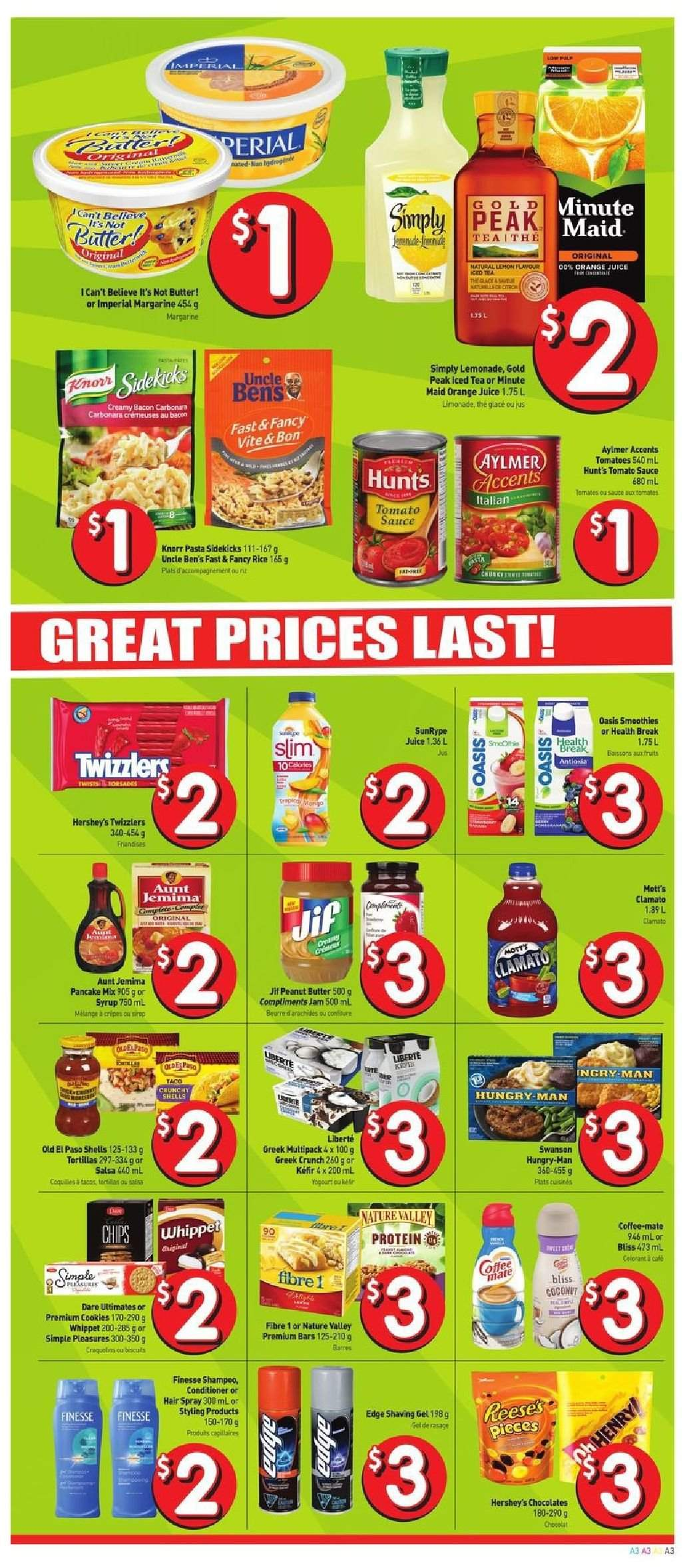 FreshCo. Flyer  - August 02, 2018 - August 08, 2018. Page 3.
