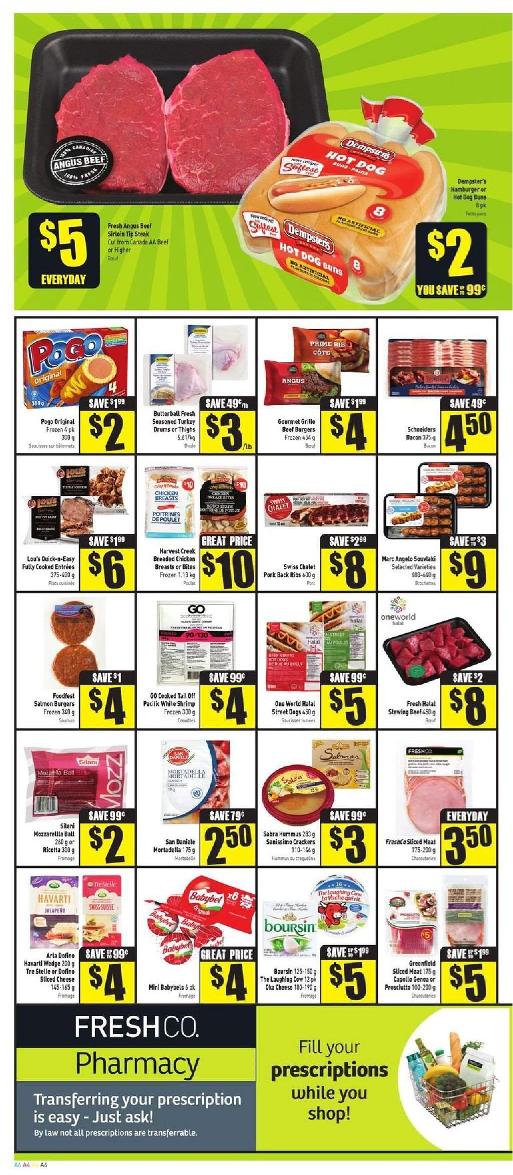 FreshCo. Flyer  - August 02, 2018 - August 08, 2018. Page 4.