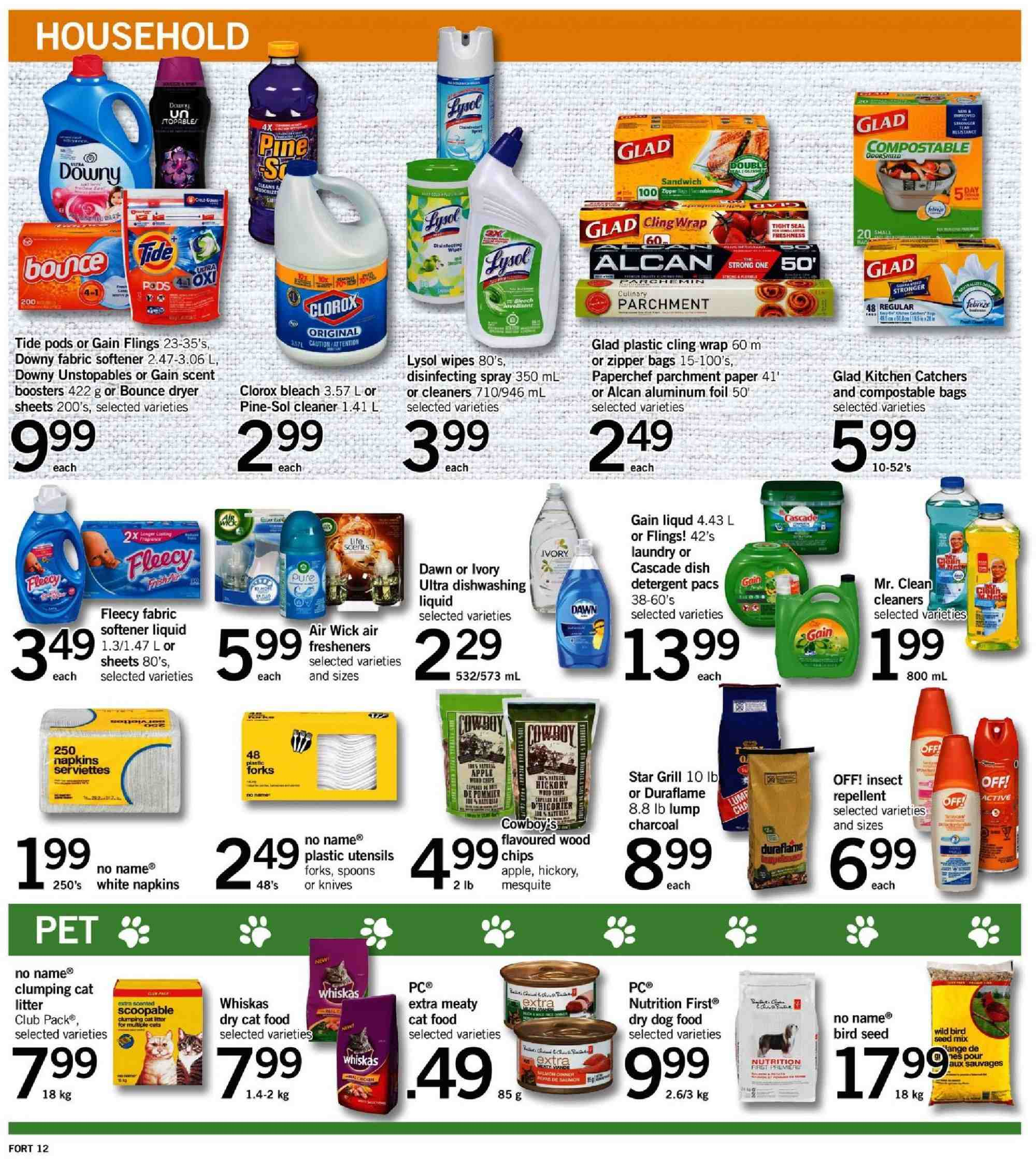 Fortinos Flyer  - August 02, 2018 - August 08, 2018. Page 12.