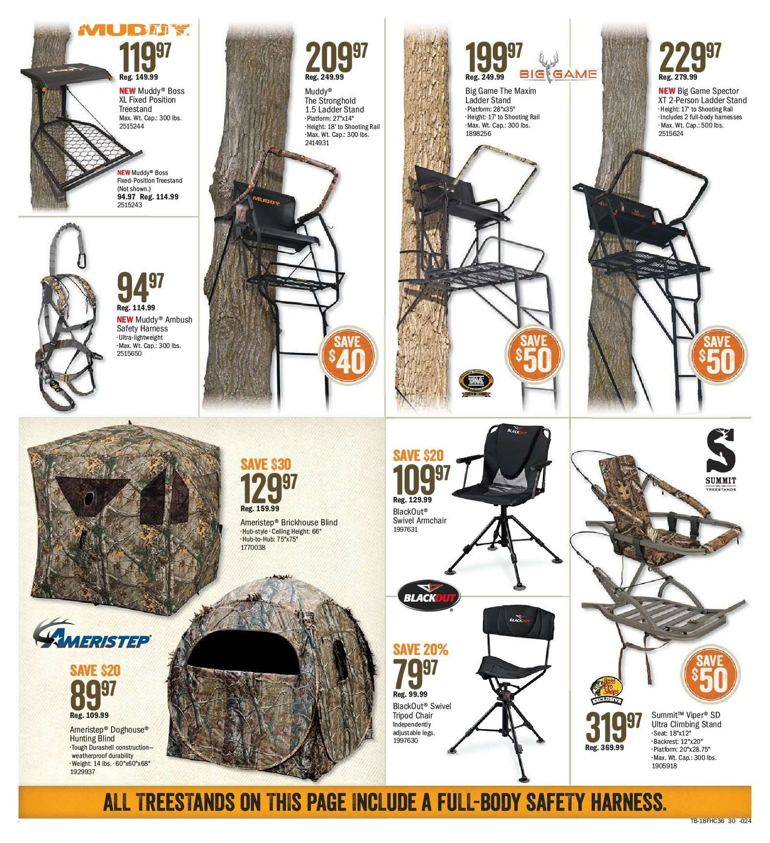 Bass Pro Shops Flyer  - August 10, 2018 - August 26, 2018. Page 30.