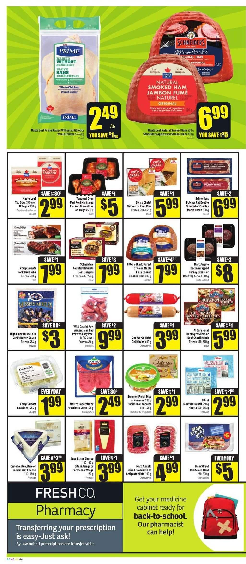 FreshCo. Flyer  - August 09, 2018 - August 15, 2018. Page 4.